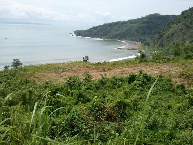 salah satu sudut pantai selatan