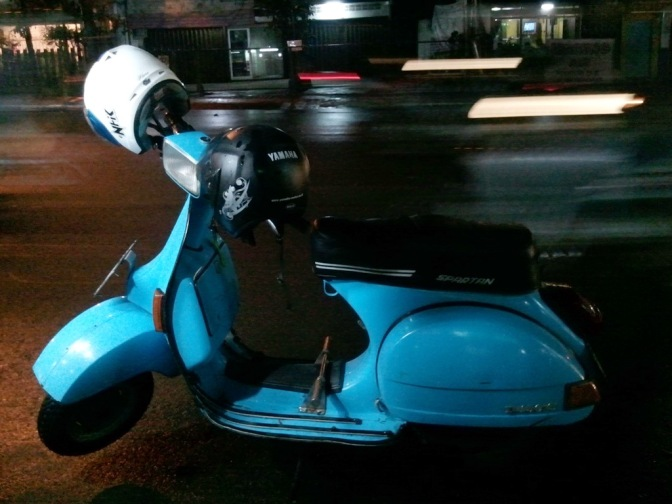 the blue herooo....