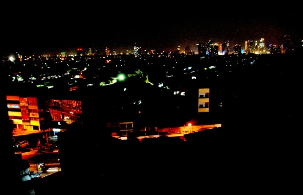 jekardah in night view