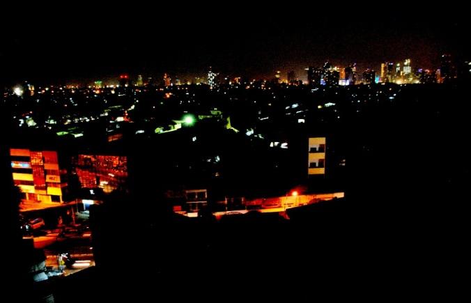 jekardah in night view