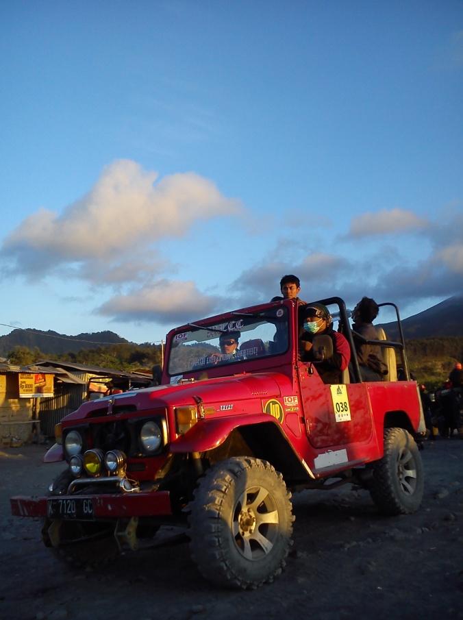 salah satu moil jeep