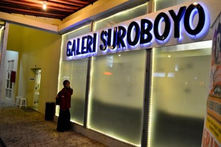 bagian depan Galeri Sby