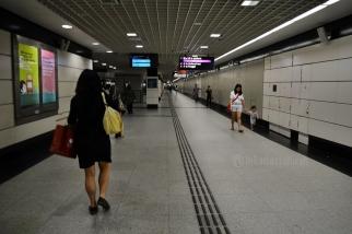 suasana di bawah tanah aka menuju MRT