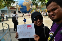 yes, we love indonesia MORE!