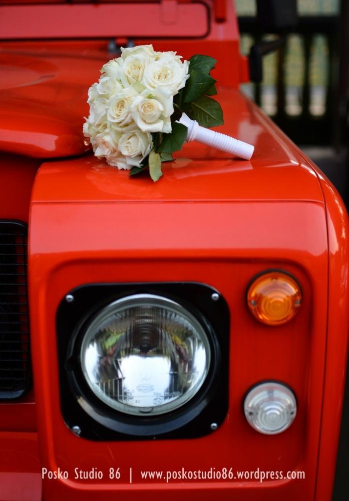 buket bunga di pernikahan T dan Z -karena foto pengantinnya masih jadi top secret :p-