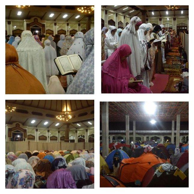 i'tikaf di masjid habiburrahman