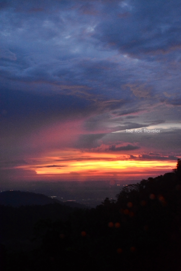 sunset di genting highlands