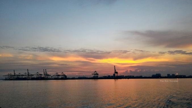 sunrise, difoto pake hape
