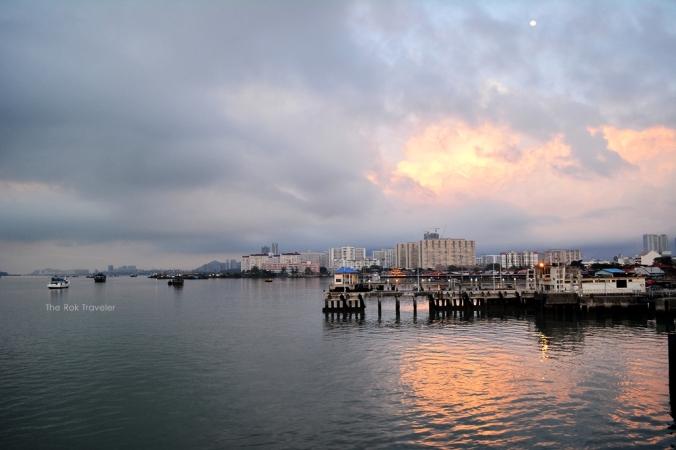 bekas2 sunrise :D